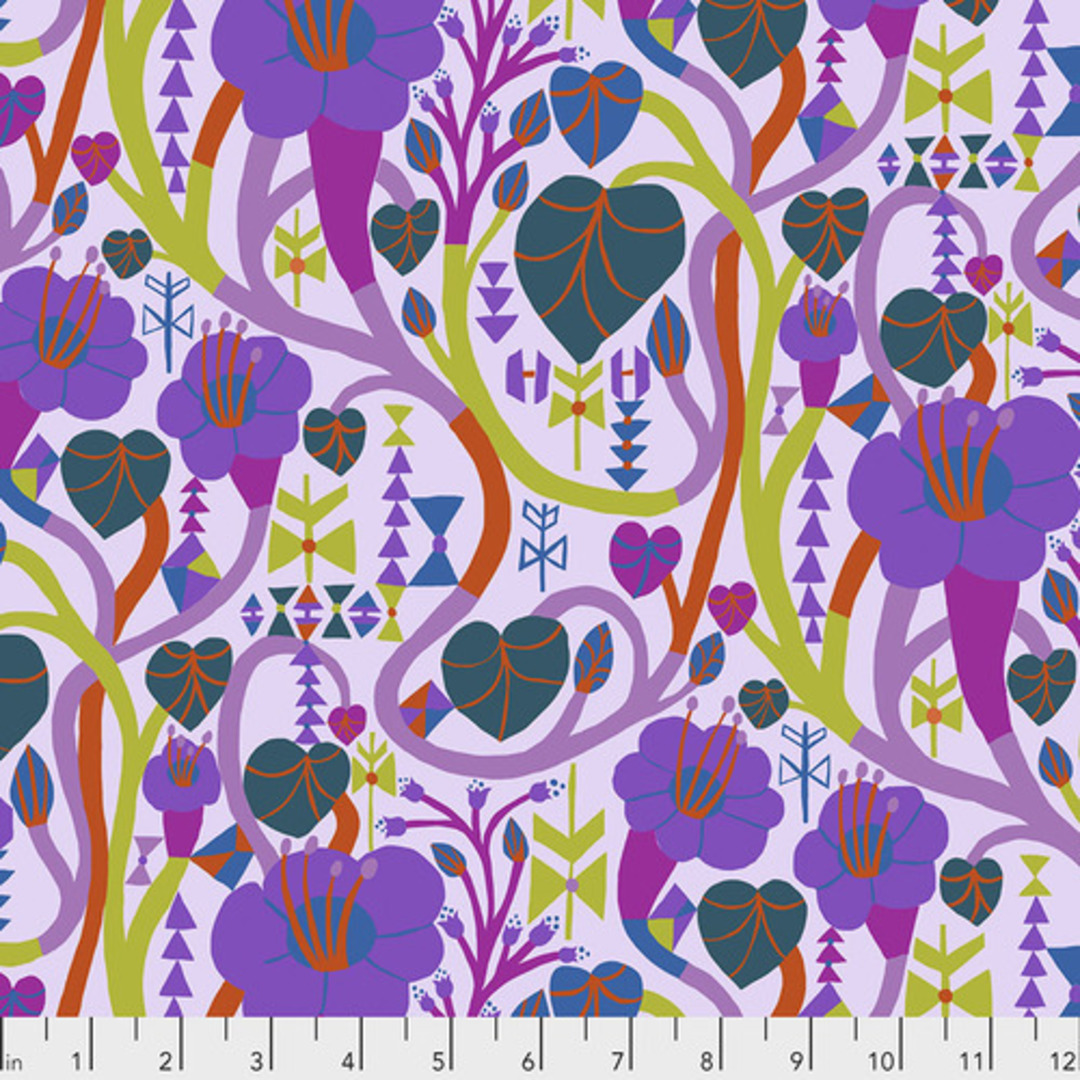 PWMF013/Meander/Lilac image 0