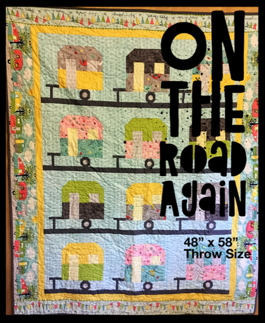 On The Road Again Quilt Kit image 0