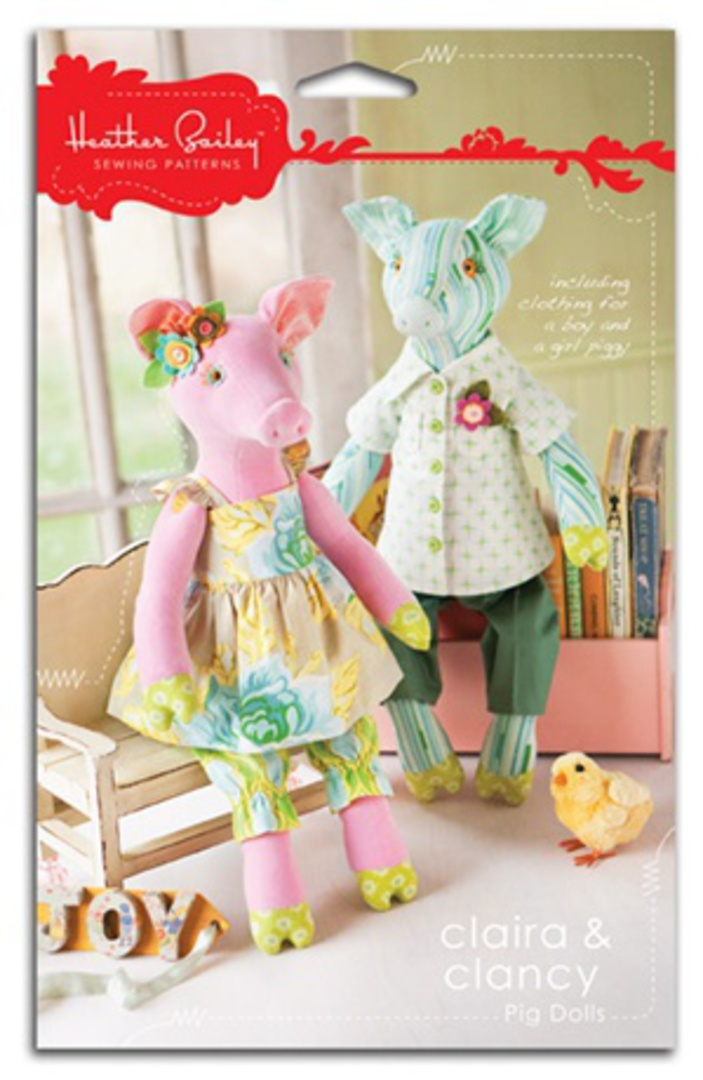 CLAIRA & CLANCY PIG DOLLS image 0