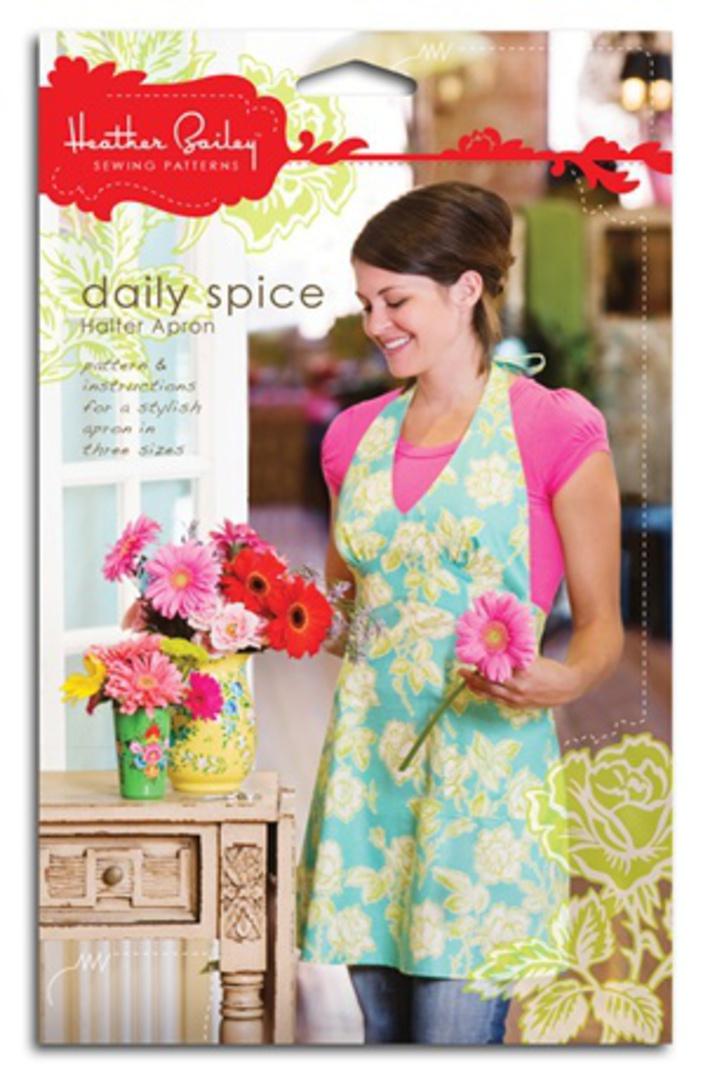 DAILY SPICE HALTER APRON image 0