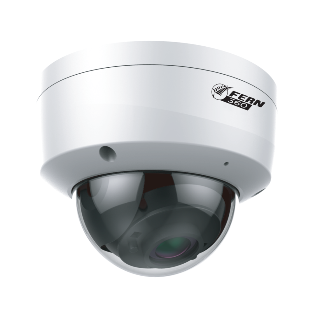 FERN360 - 4MP Vandal Dome Network Camera, Starlight, IVS, WDR, 30m IR, fixed lens image 2
