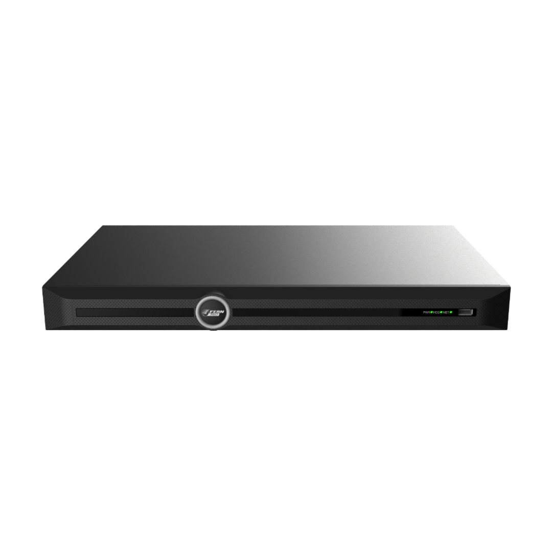 FERN360 - 20Ch Network Video Recorder with 16x PoE ports, 320Mbps - (No HDD) image 1