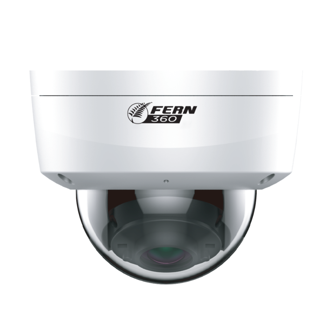 FERN360 - 4MP Vandal Dome Network Camera, Starlight, IVS, WDR, 30m IR, fixed lens image 0
