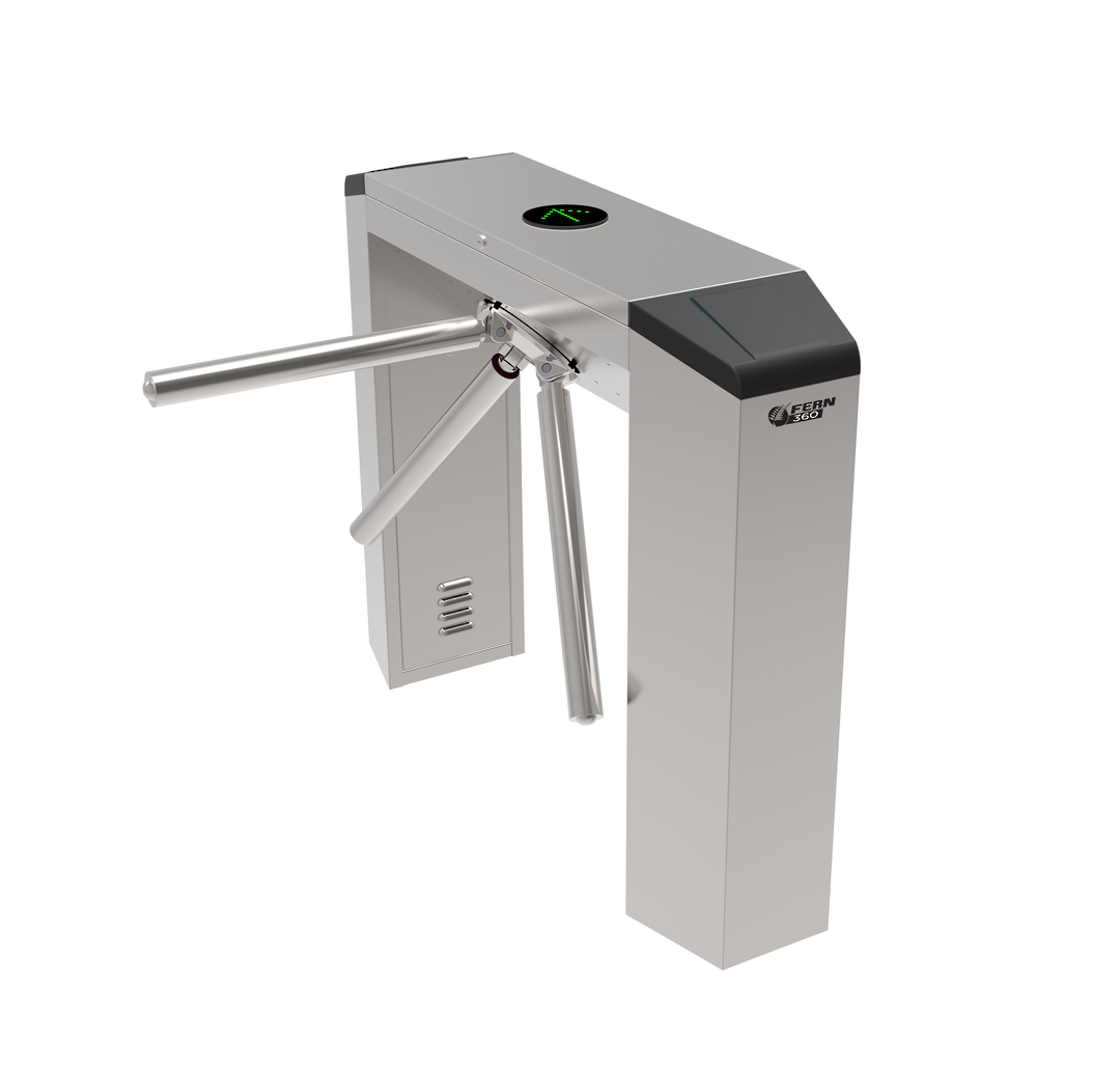 FERN360 - Stainless Steel Stand Tripod Turnstile, Full Automatic image 0