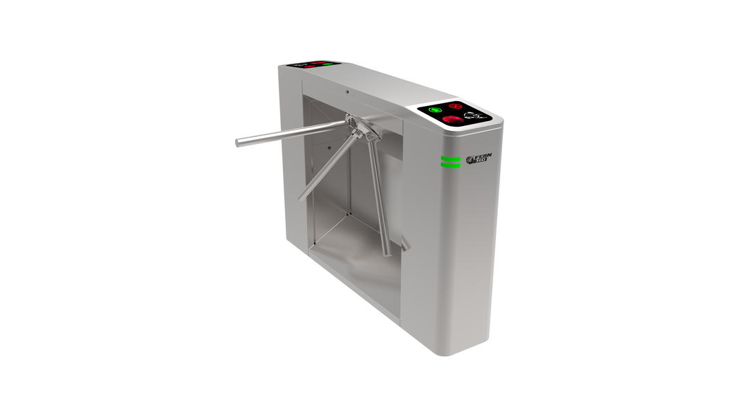 FERN360 - Stainless Steel Stand Tripod Turnstile, Fully Automatic image 0
