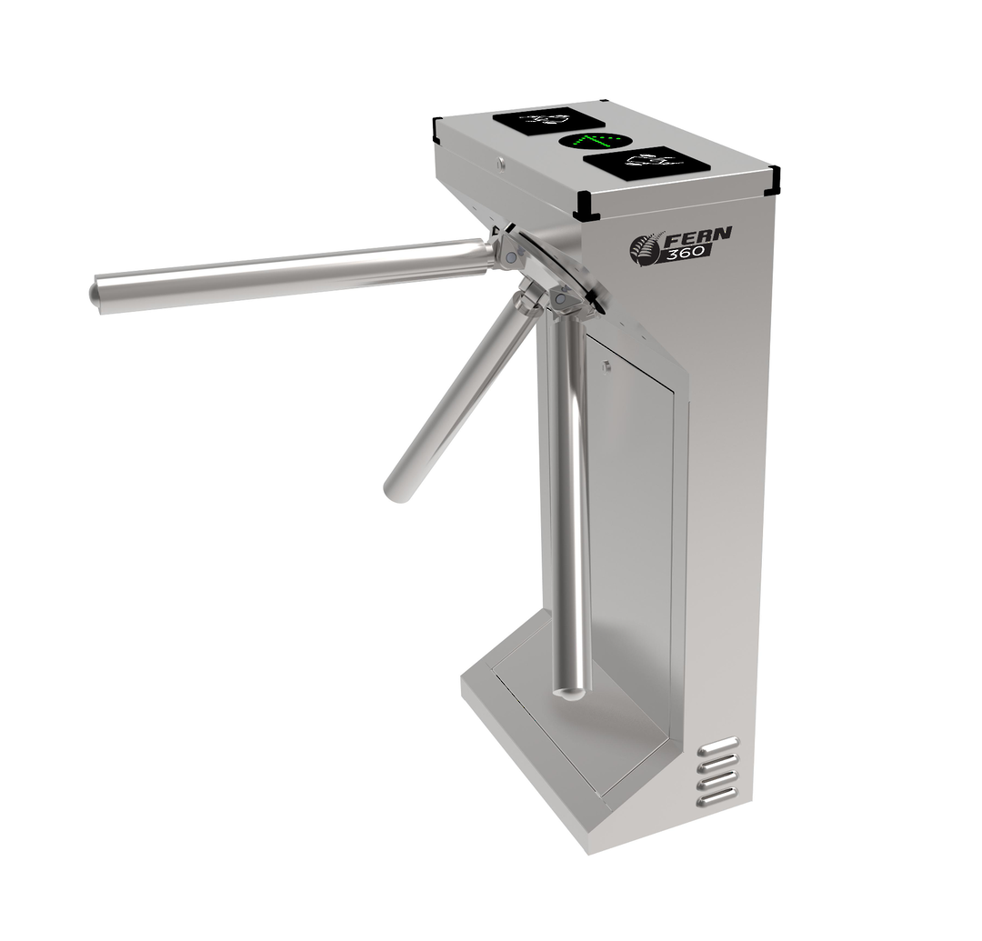 FERN360 - Stainless Steel Tripod Turnstile, Fully Automatic image 0