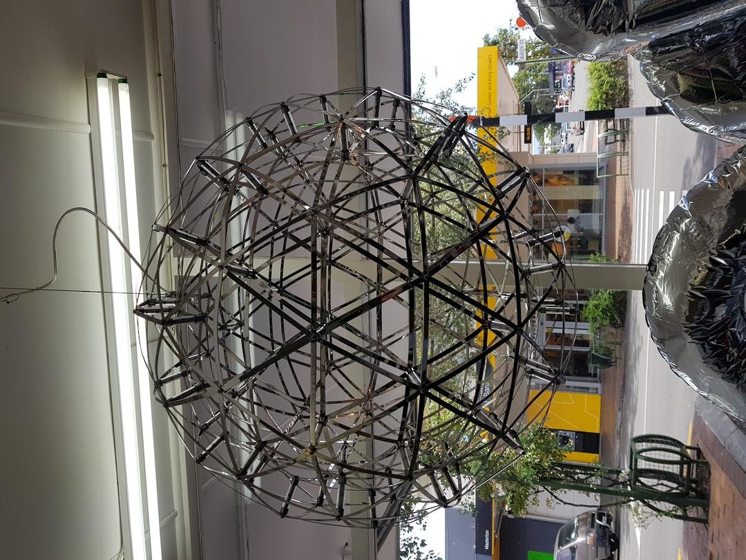 LED Ball Chandelier image 2