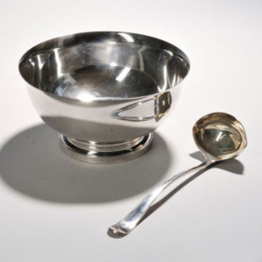 Punch Bowl and Ladel image 0