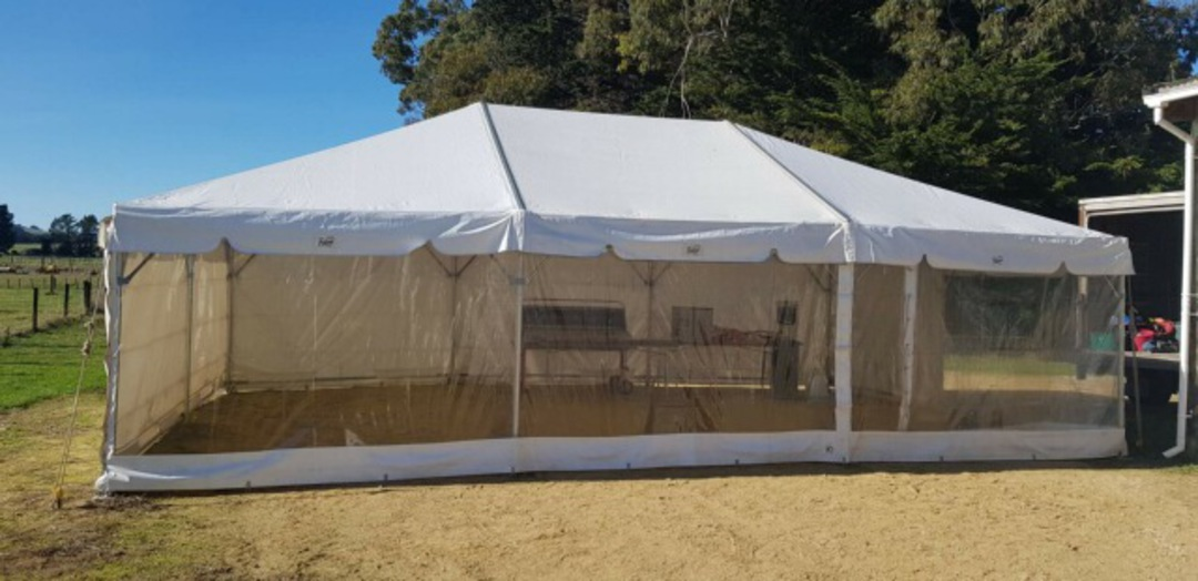 6x9m Clipframe Marquee image 1