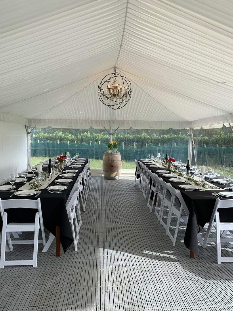 Silk Ceiling lining for Marquees image 10