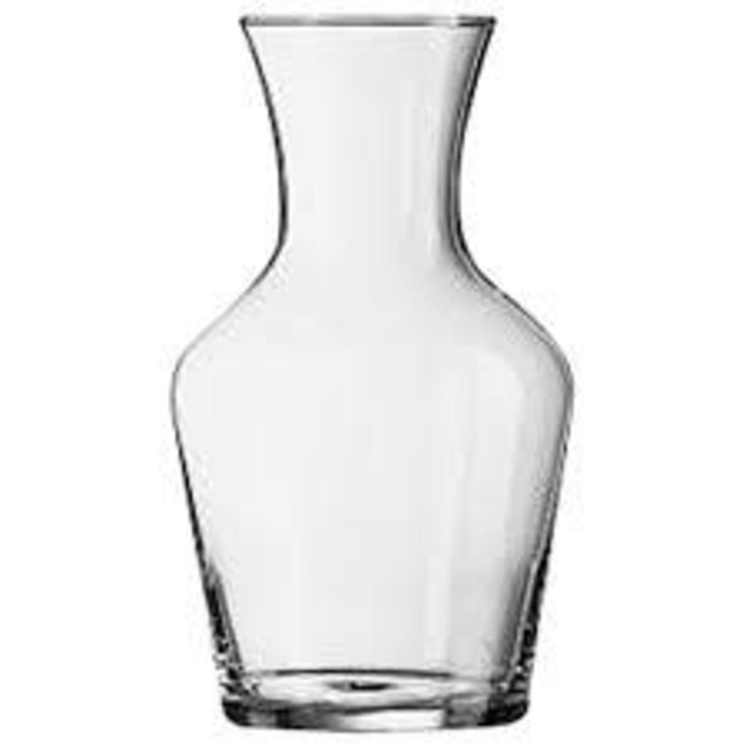 Glass Carafe 1 Litre image 0