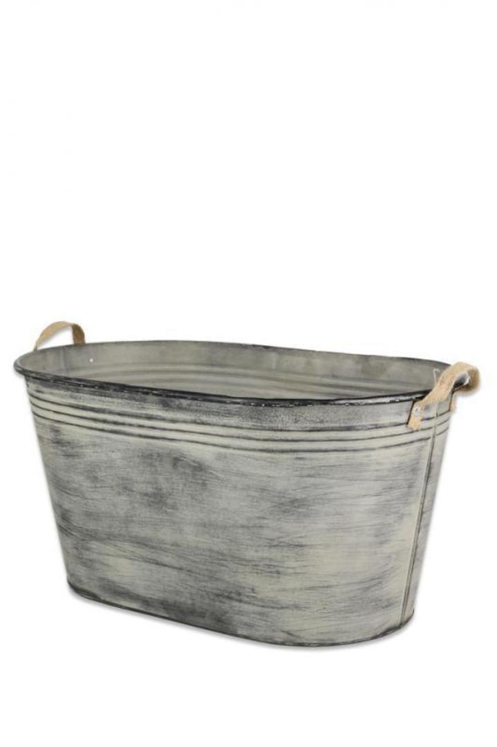 Large Galvanised Drink Tub image 0