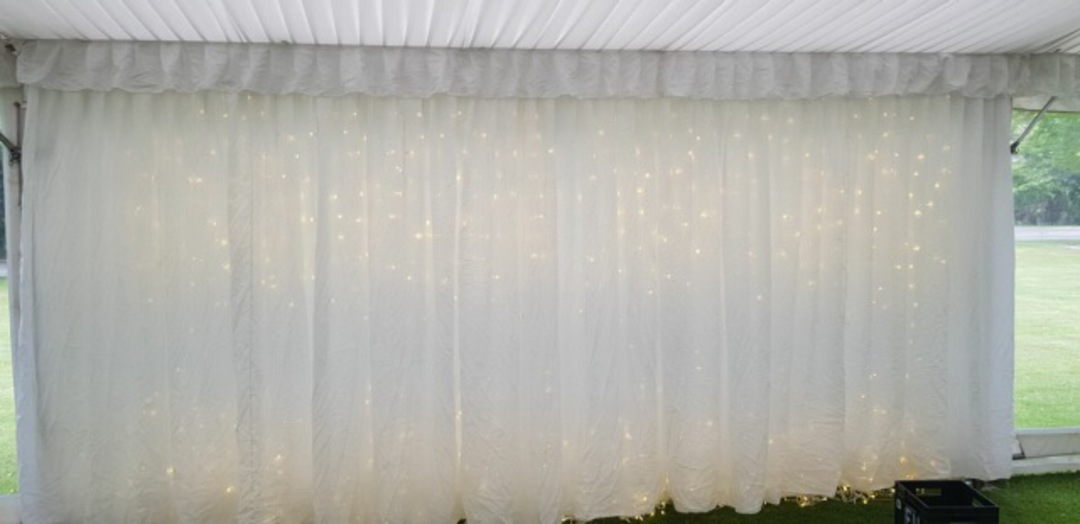 Silk Ceiling lining for Marquees image 9