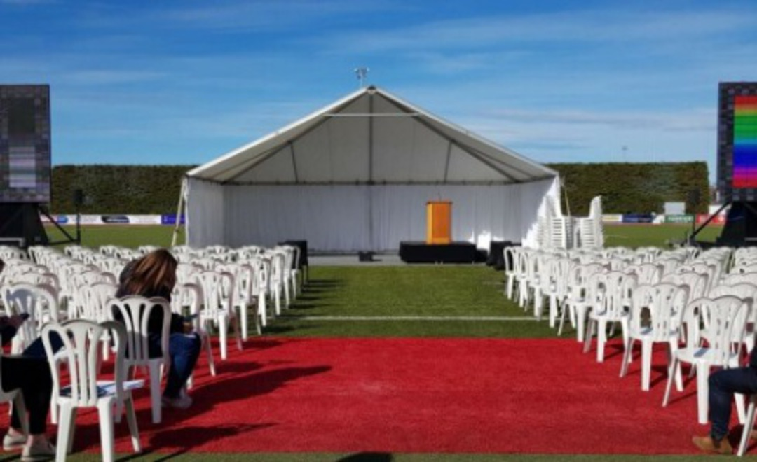 10x10m Clipframe Marquee image 6