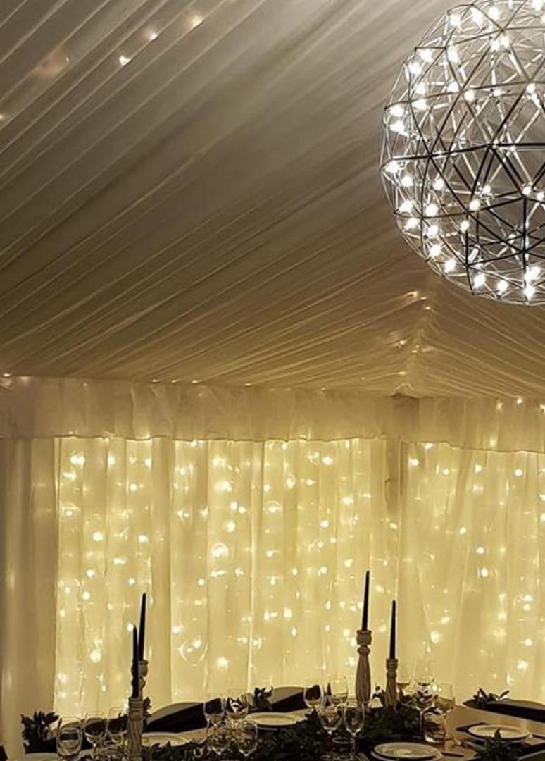 LED Ball Chandelier image 0