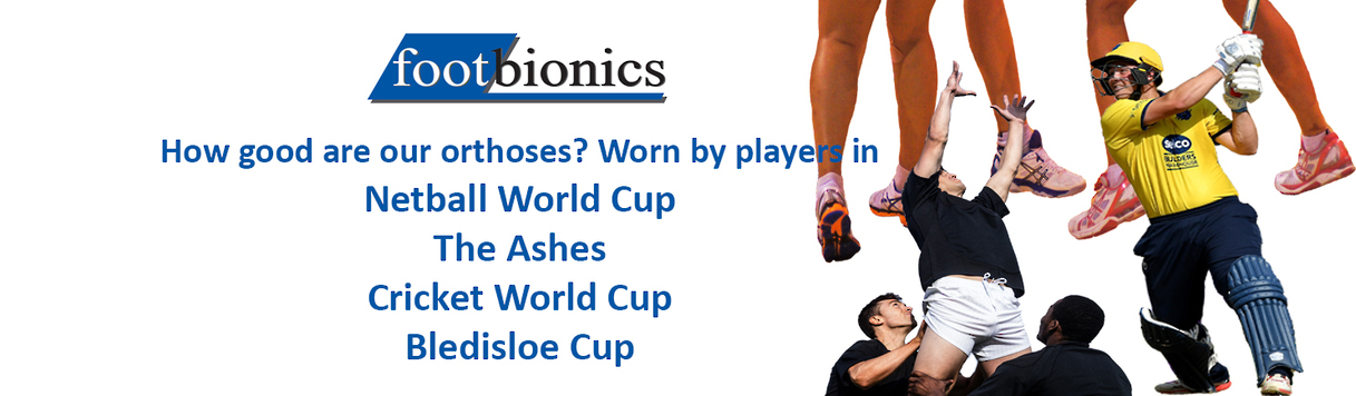 Footbionics are worn by champions