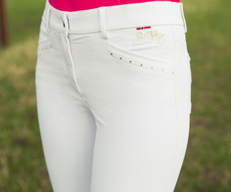 B//Vertigo Olivia Ladies' Silicone Full Seat Breeches image 2