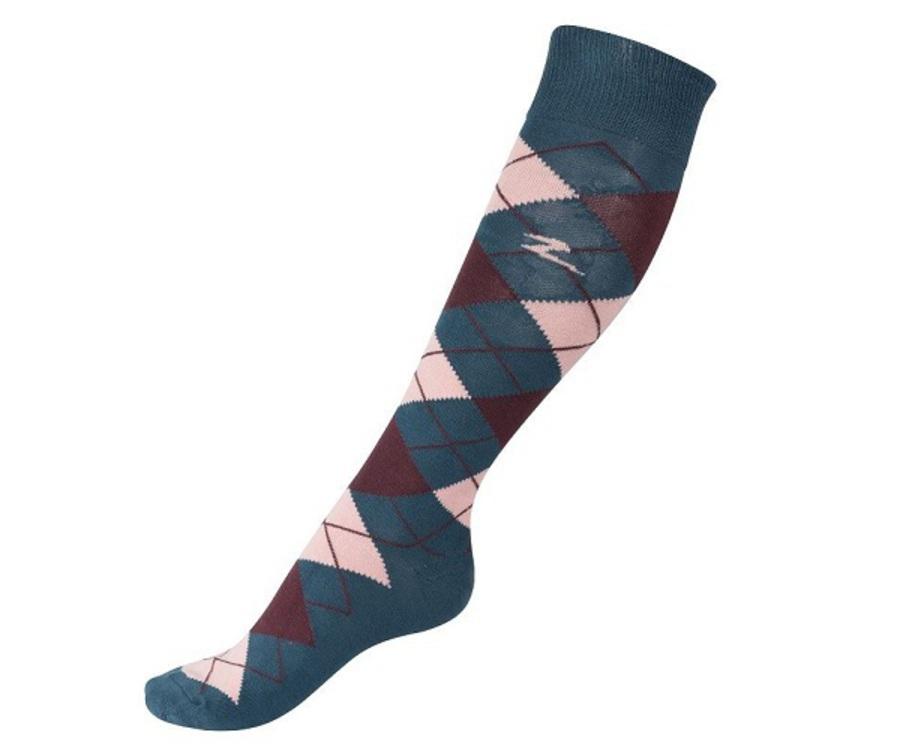 Horze Alana Checked Summer Socks image 2