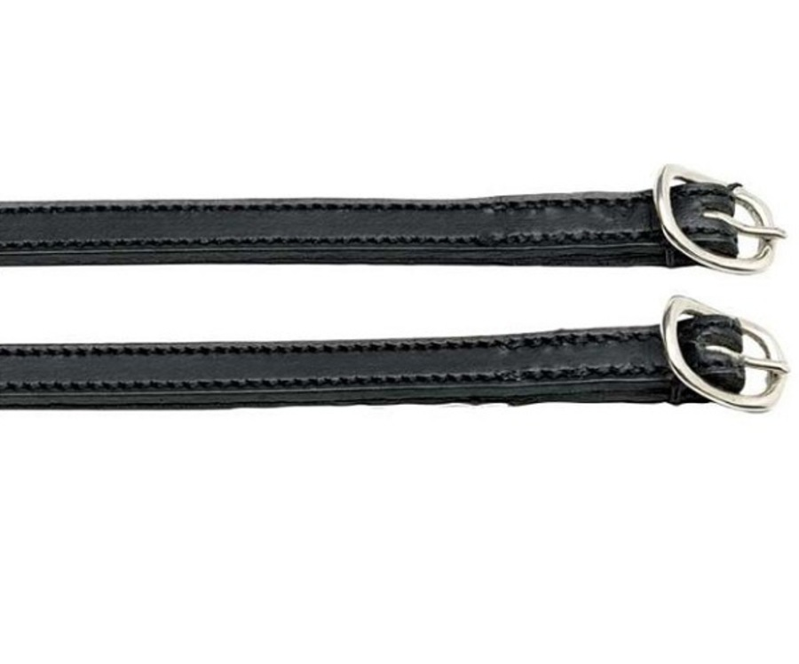 Zilco Aintree Stitched Leather Spur Strap image 0