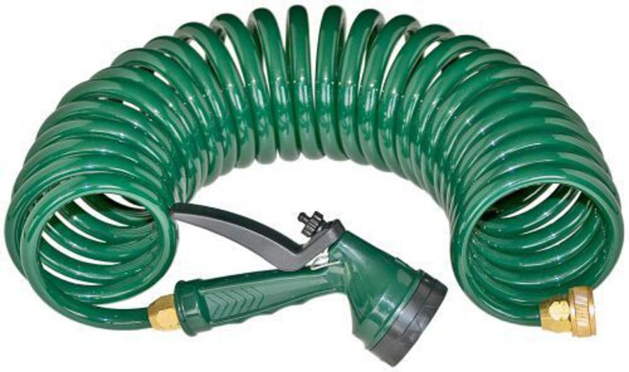 Coiled Stable Hose image 0