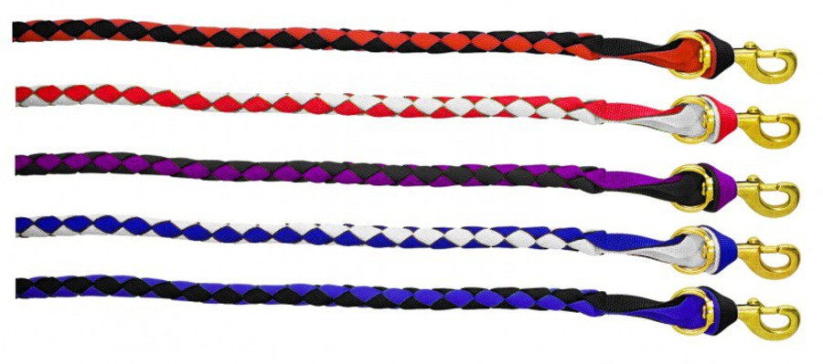 Flair Two Tone Plaited Lead image 0