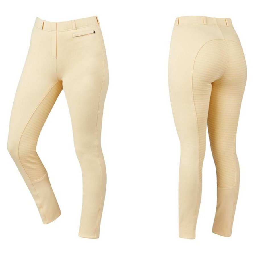 Dublin Supa-Fit Kids Pull On Gel Full Seat Year Round Jodhpurs image 0