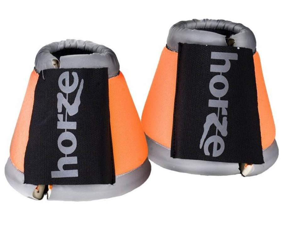 Horze Reflective Bell Boots image 0
