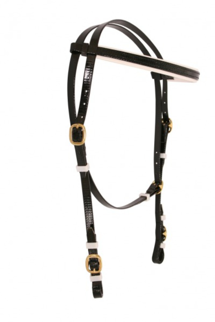 Flair Running Throat Bridle Head-Brass image 0