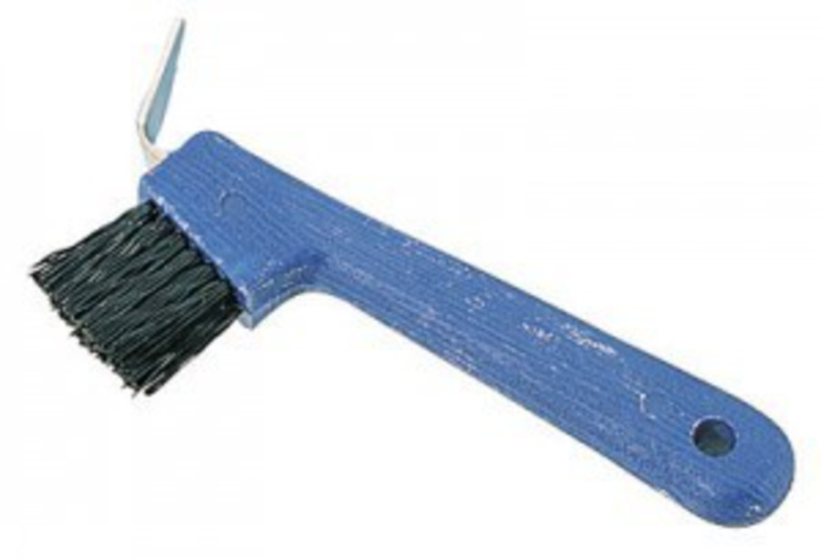 Roma Deluxe Hoof Pick With Brush image 0