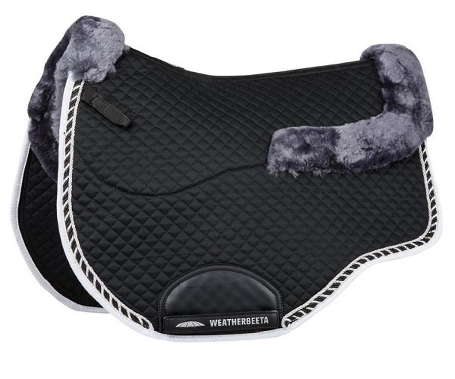 Weatherbeeta Euro Shaped Sheepskin All Purpose Saddle Pad II image 0