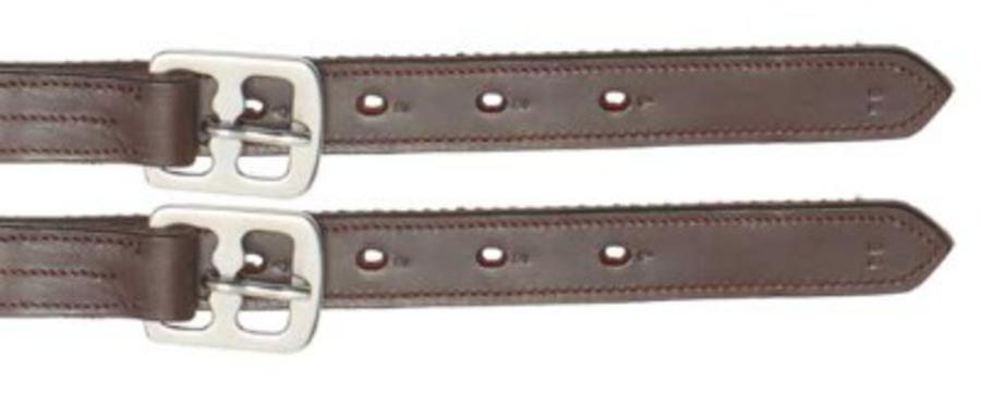 Aintree Stitched -Nylon Reinforced Stirrup Leathers image 0