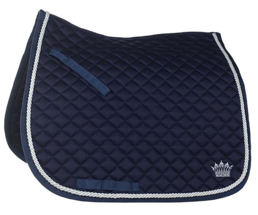 Horze Silver-Cord Dressage Saddle Pad image 2
