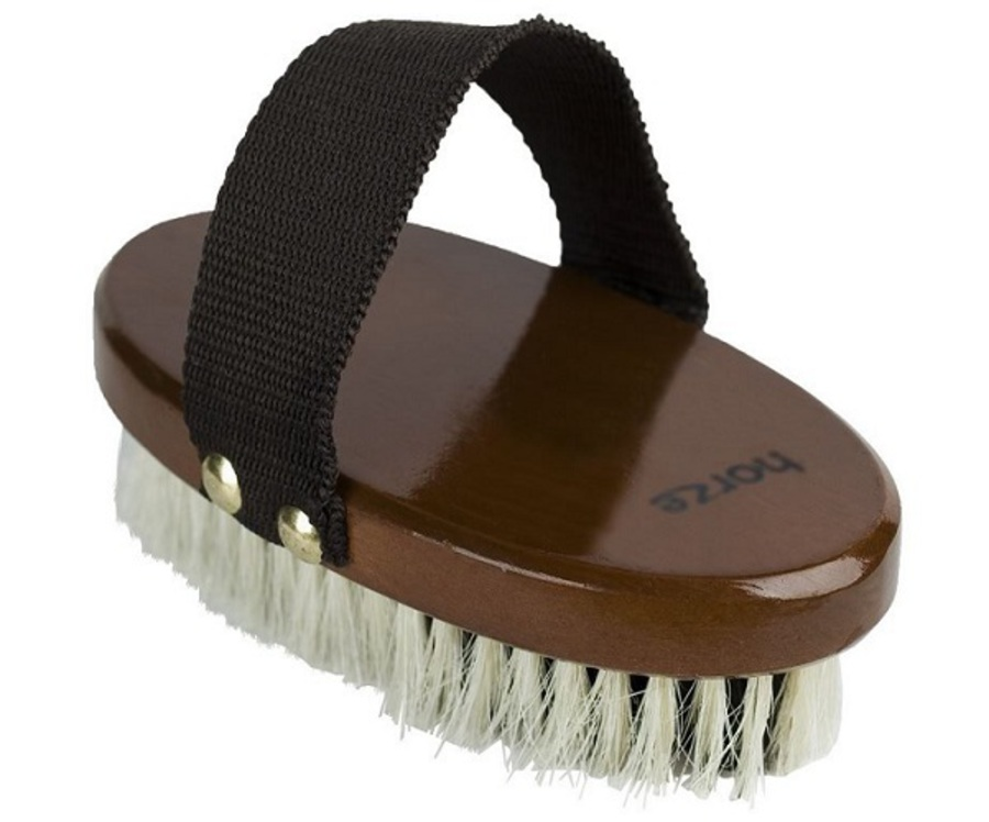 Horze Small Natural Body Brush image 0