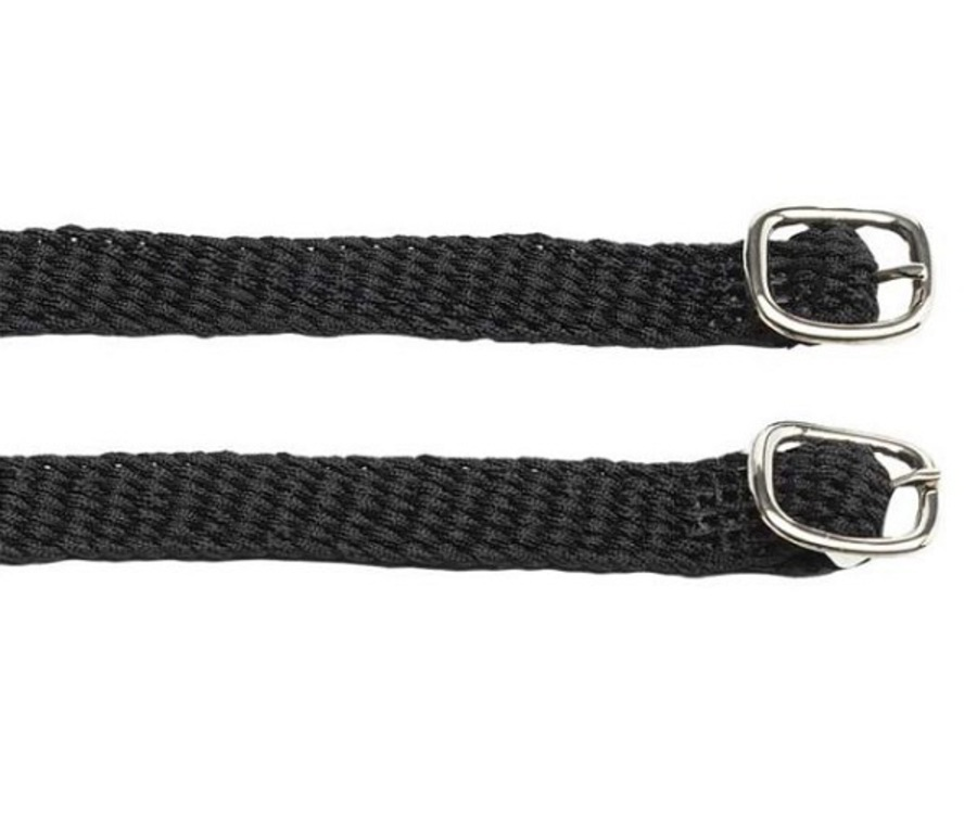Zilco Braided Synthetic Webbing Spur Straps image 0