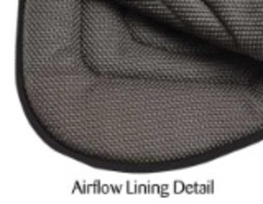 Track Work Airflow Saddle Cloth image 1