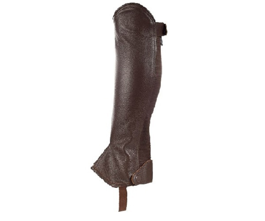 Horze Leather Half Chaps image 0