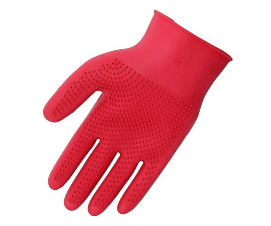 Blue Tag Fine Pimple Grooming Glove image 0