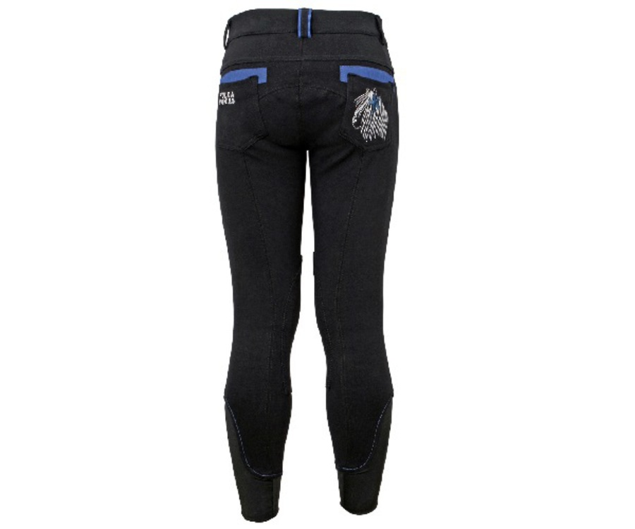 Polka Ponies Knit Breeches image 2