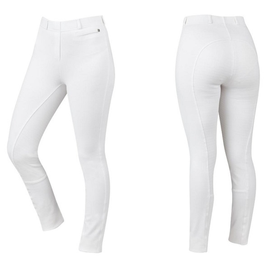 Dublin Supa-Fit Kids Pull On Gel Full Seat Year Round Jodhpurs image 1