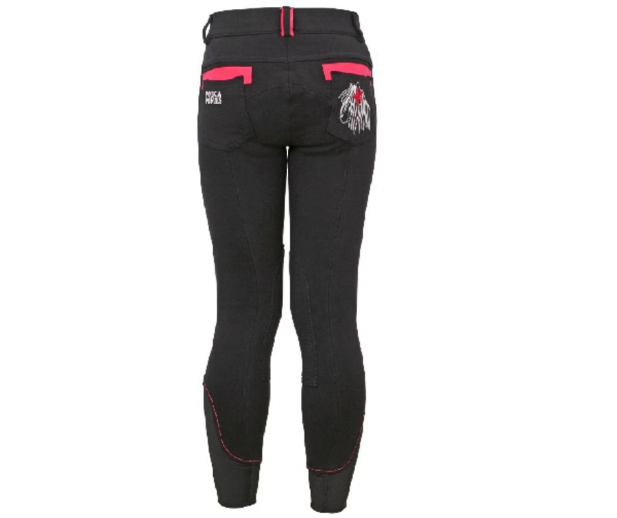 Polka Ponies Knit Breeches image 0