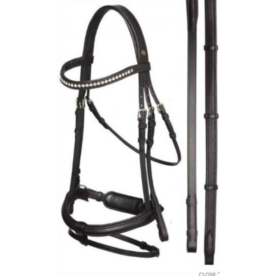 Zilco Oregon DS11 Hanoverian Bridle image 0