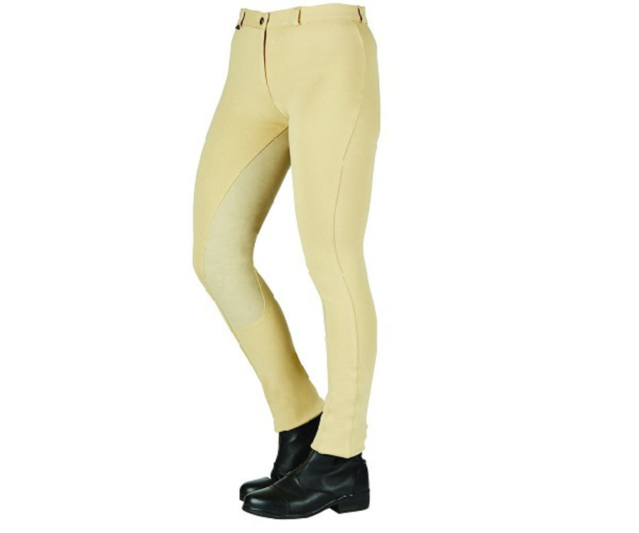 Saxon Cotton Full Seat Jodhpurs - Ladies image 0