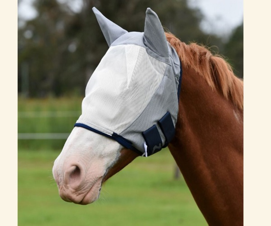 Horze Fly Mask with Ears image 0