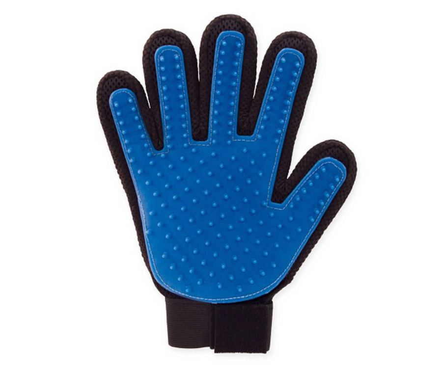Bee Kind Wet & Dry Grooming Glove image 0