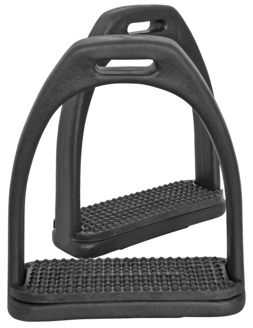 Blue Tag Composite Stirrup Irons With Pads image 0