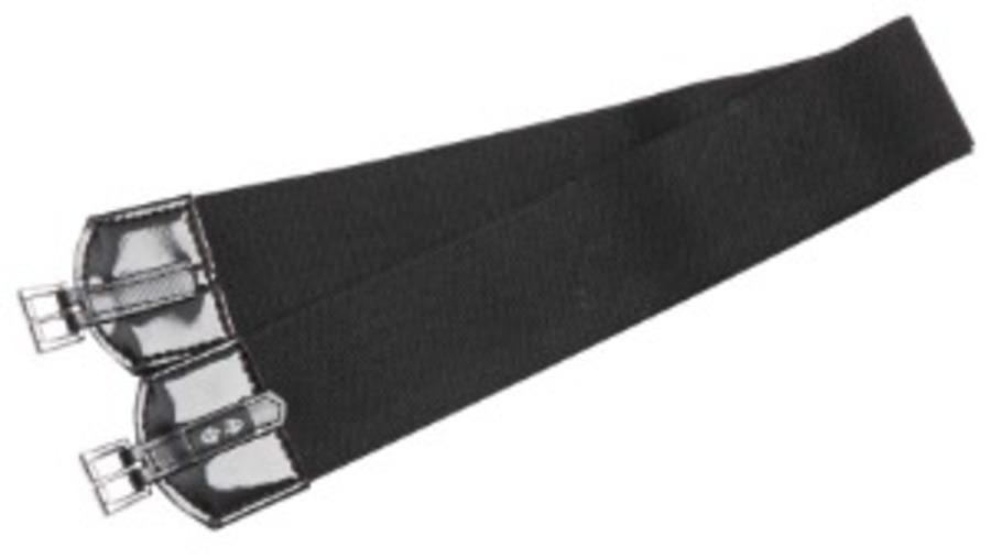 Zilco Double Elastic US Style Race Girth-100cm wide ,19mm buckles image 0