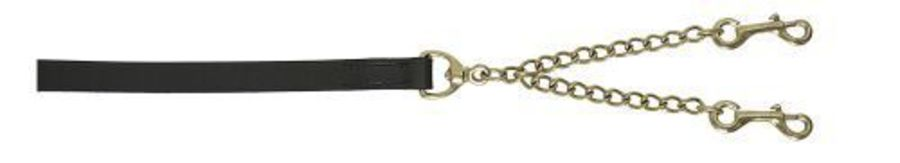 Flair Leather Show Lead - Nickel Plated Coupling Chain image 0