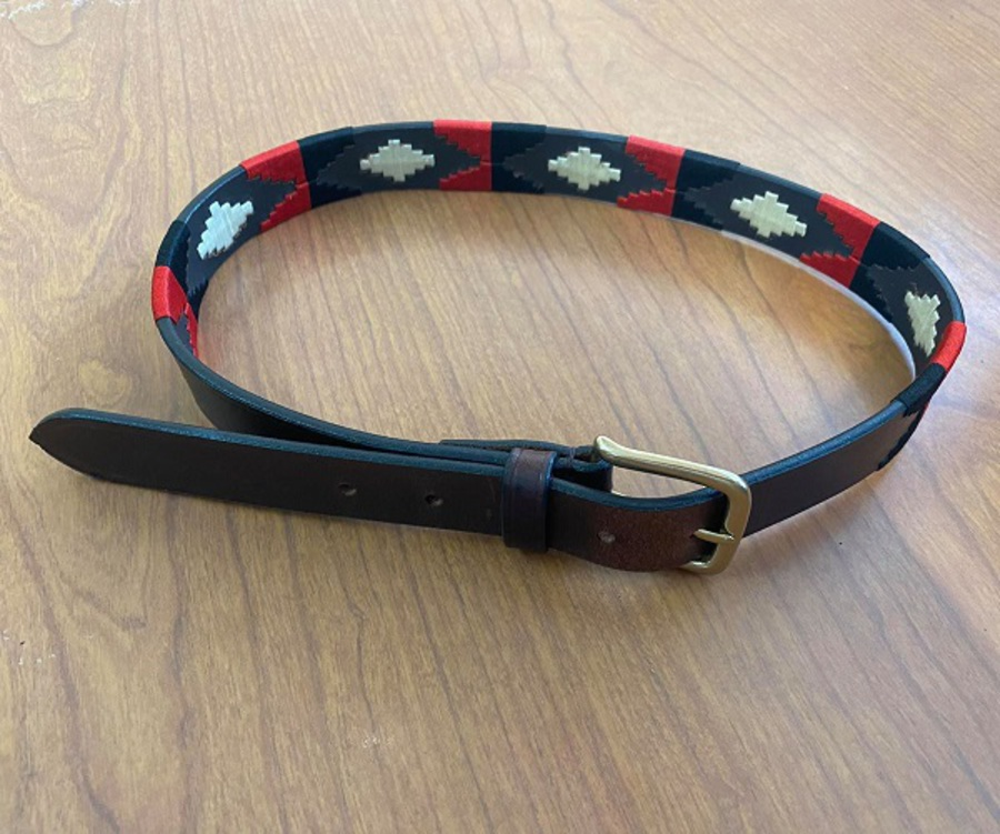 Dublin Leather Polo Belt image 0