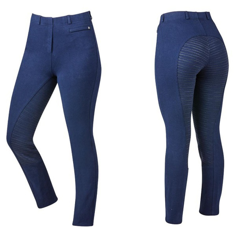 Dublin Supa-Fit Kids Pull On Gel Full Seat Year Round Jodhpurs image 2