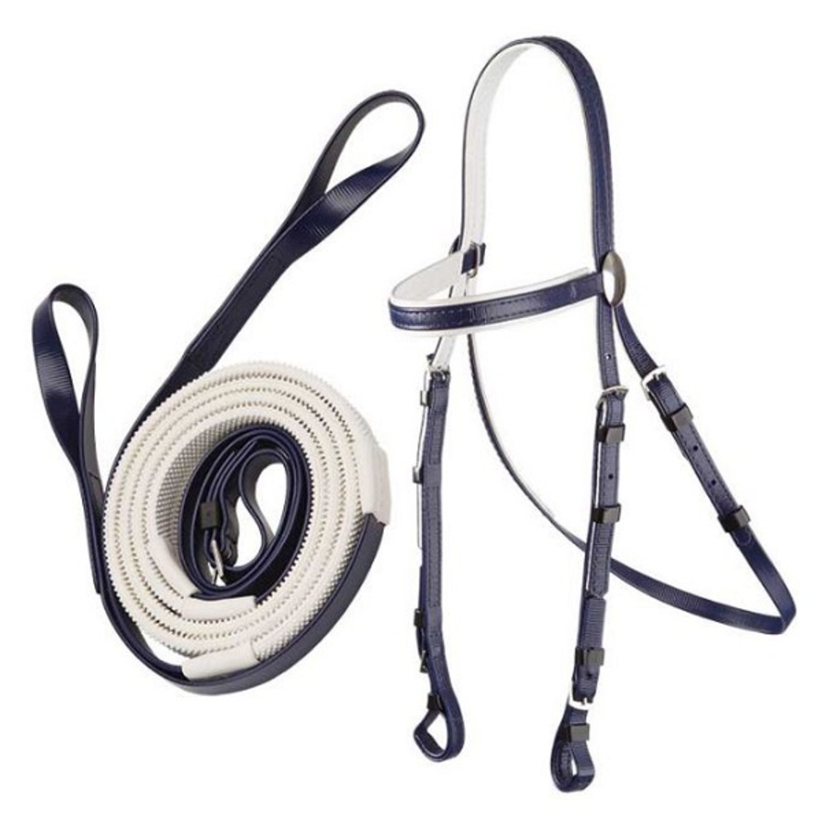 Zilco Stainless Steel Race Bridle & Loop Rein Set image 0